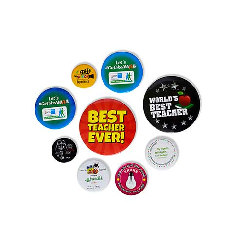 Magnetic Button Badges in Sirsa
